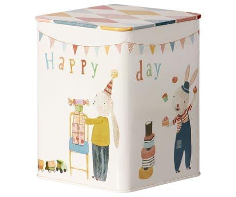 Maileg Happy Day metal box