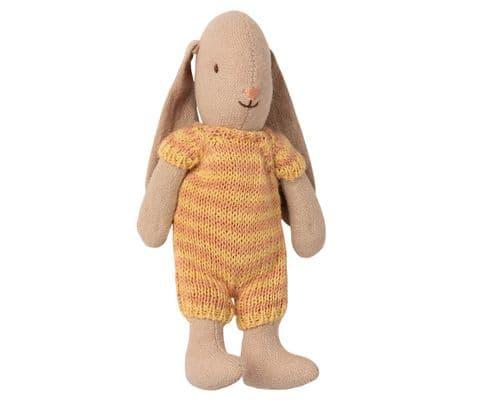 Maileg Micro Bunny - yellow
