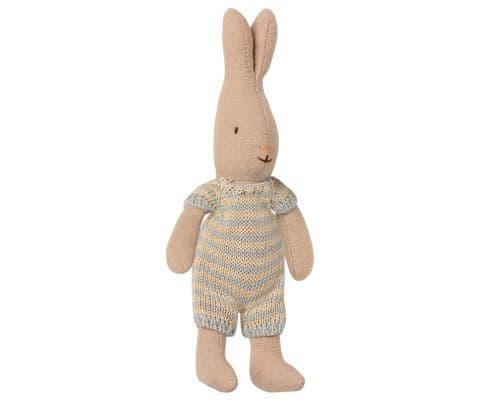 Maileg Micro Rabbit sky blue
