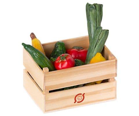 Maileg miniature fruit & veg crate