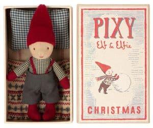 Maileg Pixie Elf boy in a box