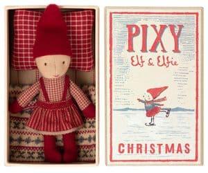 Maileg Pixie Elfie girl in a box