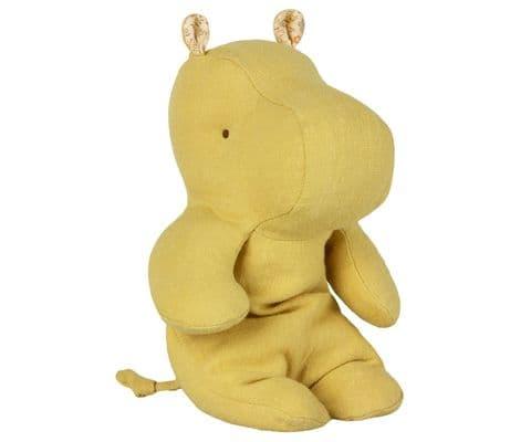 Maileg Safari friend - small yellow hippo