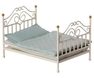 Maileg vintage double bed