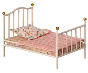 Maileg vintage single bed - off white