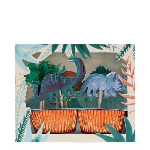 Meri Meri Dinosaur Cupcake kit