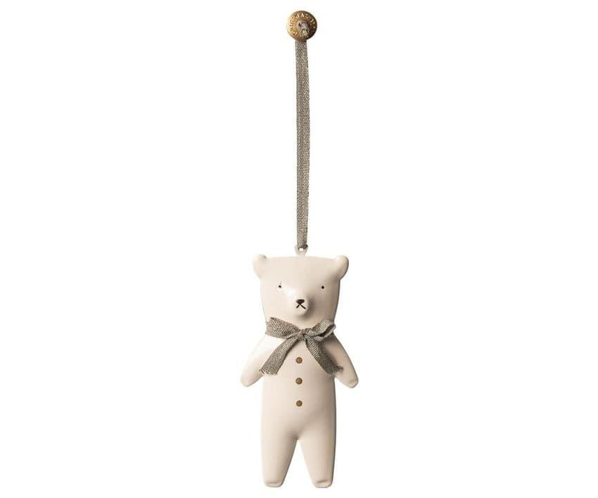 Maileg metal ornament - Teddy bear