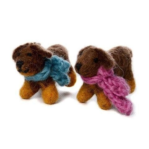Mini Sausage dog - set of two