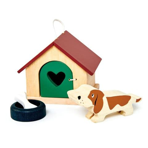 Pet dog  wooden play set