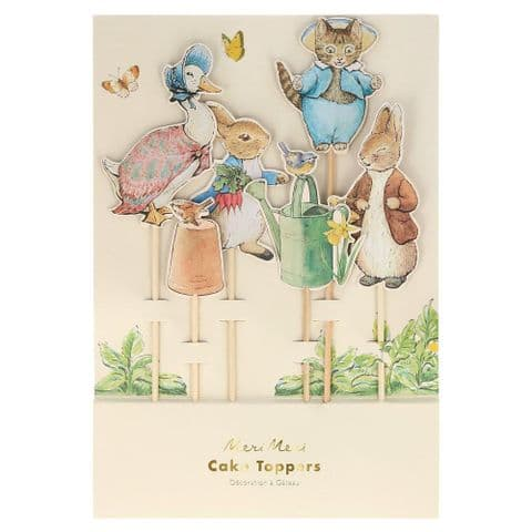 Peter Rabbit Cake Toppers