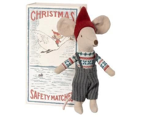 PRE-ORDER Big brother Christmas mouse