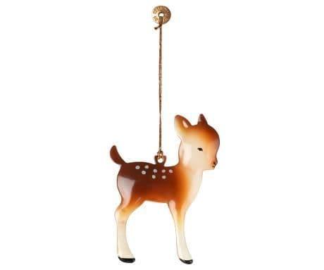 PRE-ORDER metal ornament, bambi