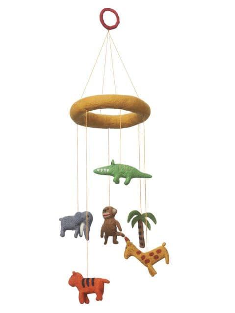 Safari nursery mobile