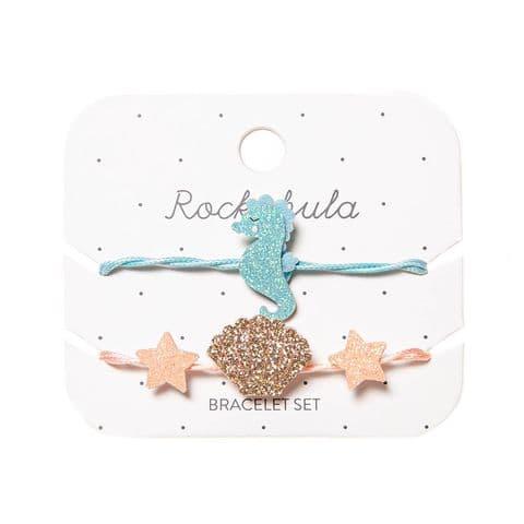 Sylvia Seahorse Bracelet Set