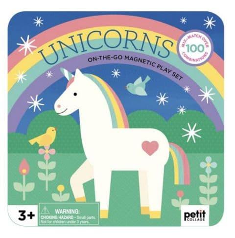 Unicorn magnetic play set