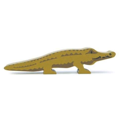 Wooden animal - crocodile