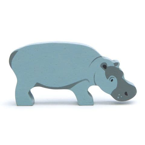 Wooden animal - hippopotamus