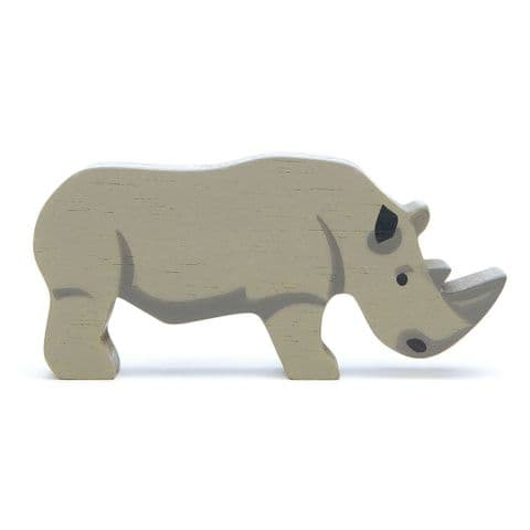 Wooden animal - rhino
