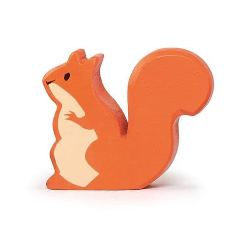 Wooden animal - squirrel