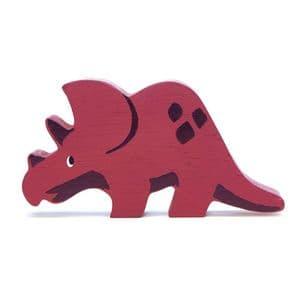 Wooden dinosaur - Triceratops