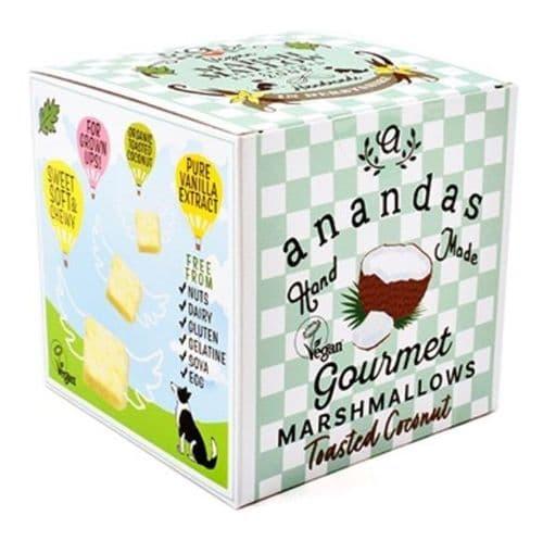 Ananda Toasted Coconut Marshmallows 80g
