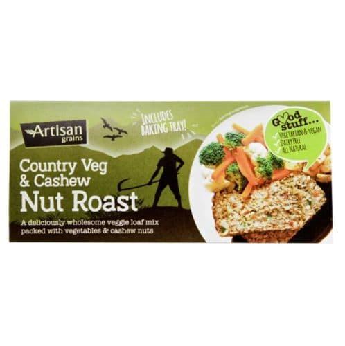 Artisan Grains Country Veg & Cashew Nut Roast Mix 200g