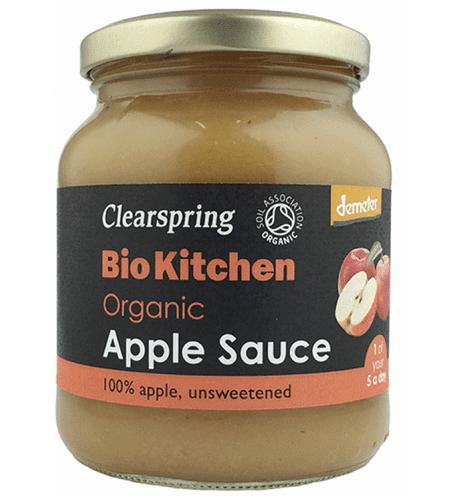 Clearspring Organic 100% Apple Sauce 360g