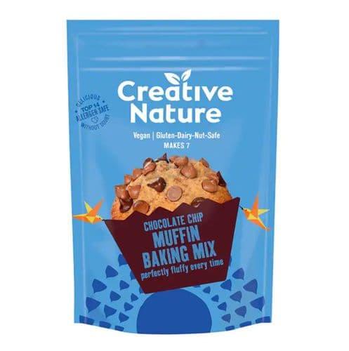 Creative Nature Chocolate Chip Muffin Baking Mix 250g