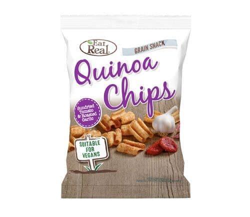 Eat Real Quinoa Chips Sundried Tomato & Garlic 25g