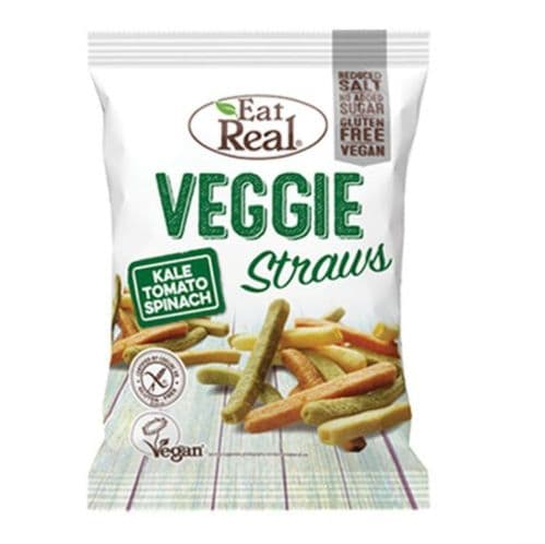 Eat Real Veggie Straws Kale Tomato & Spinach 22g