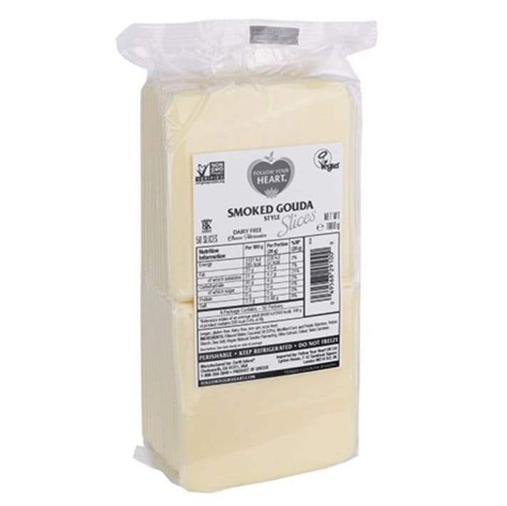 Follow Your Heart Smoked Gouda Style Slices 1kg