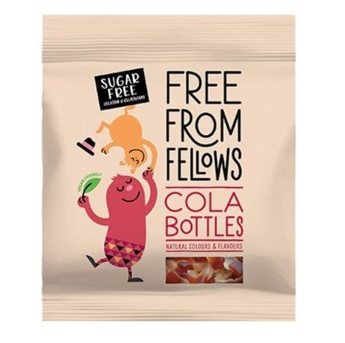 Free From Fellows Sugar Free Cola Bottles 100g
