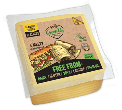 GreenVie Gouda Slices 500g