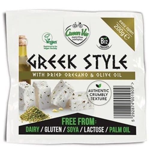 GreenVie Greek Style With Olive Oil & Oregano 200g
