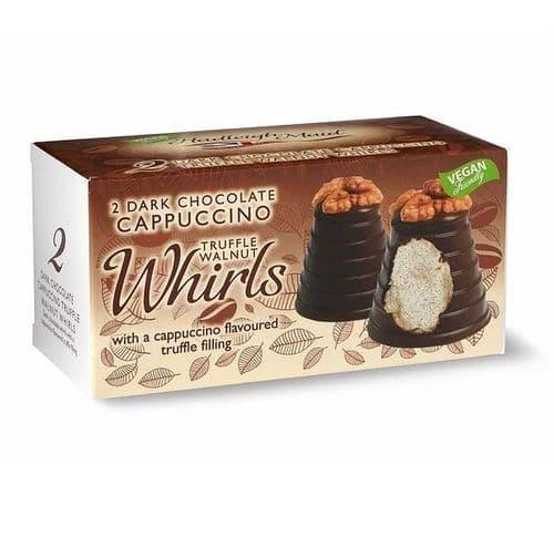 Hadleigh Maid Dark Chocolate Cappuccino Truffle Walnut Whirls 90g