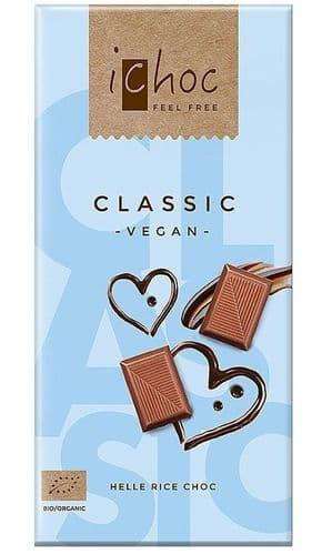 iChoc Classic Hele Rice Chocolate 80g