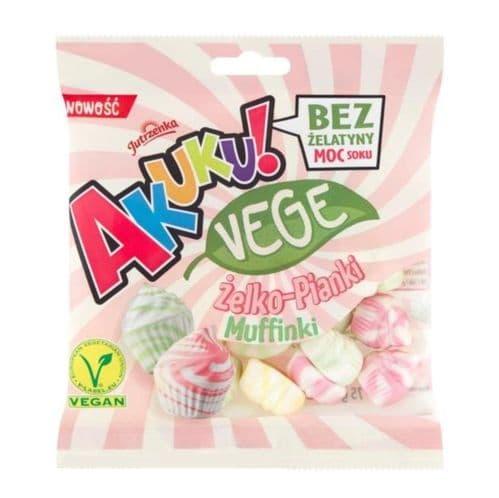 Jutrzenka Akuku! Jelly Marshmallows Muffins 75g