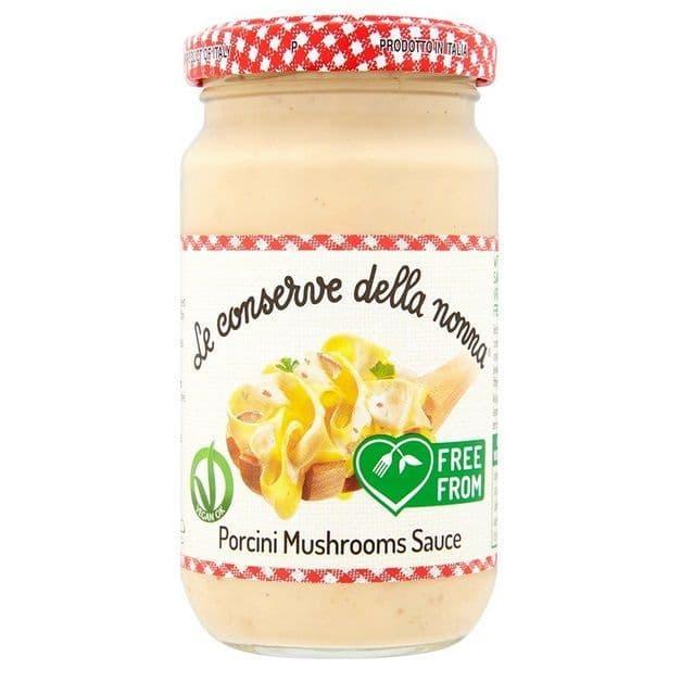 Le Conserve Porcini Mushrooms Sauce 190g