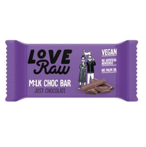 LoveRaw Mylk Choc Bar 30g
