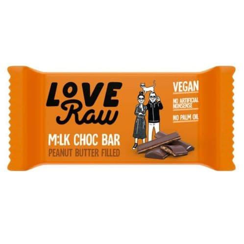 LoveRaw Peanut Butter Mylk Choc Bar 30g