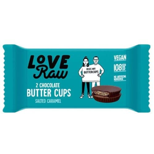 LoveRaw Salted Caramel Butter Cups 34g