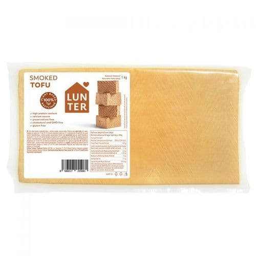 Lunter Smoked Firm Tofu 1kg