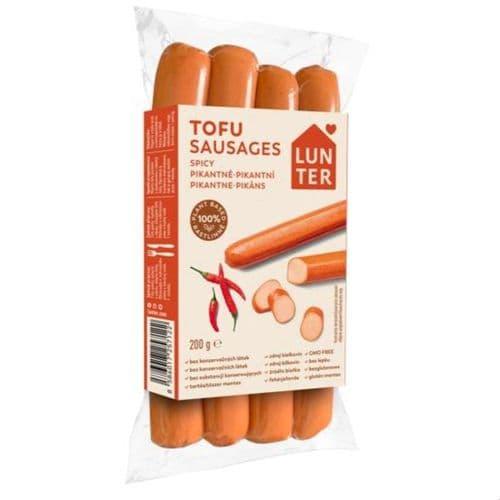 Lunter Tofu Spicy Sausages 200g