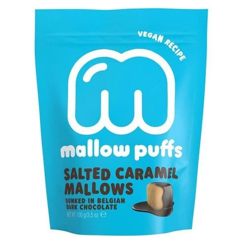 Mallow Puffs Salted Caramel 100g