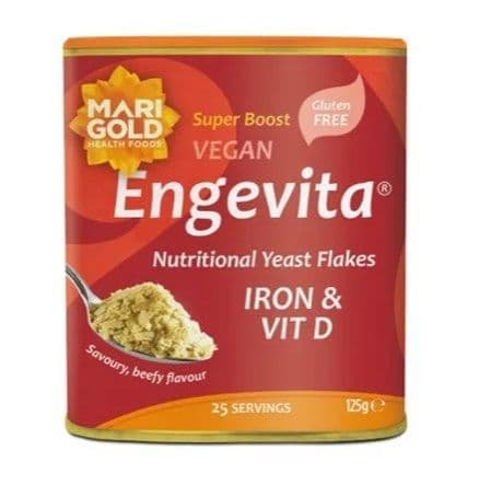 Marigold Engevita Yeas Flakes Iron & Vit D 125g
