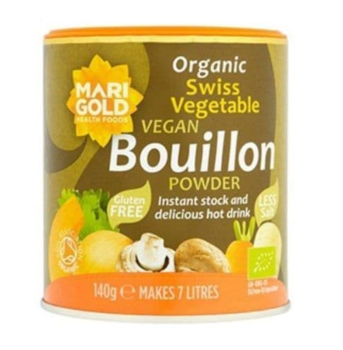 Marigold Swiss Vegetable Bouillon Less Salt 140g
