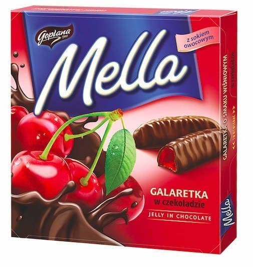 Mella Chocolate Covered Cherry Jelly 190g