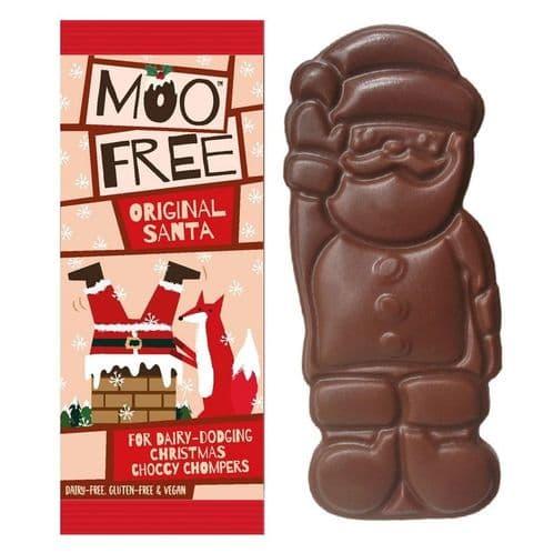 Moo Free Chocolate Santa 32g