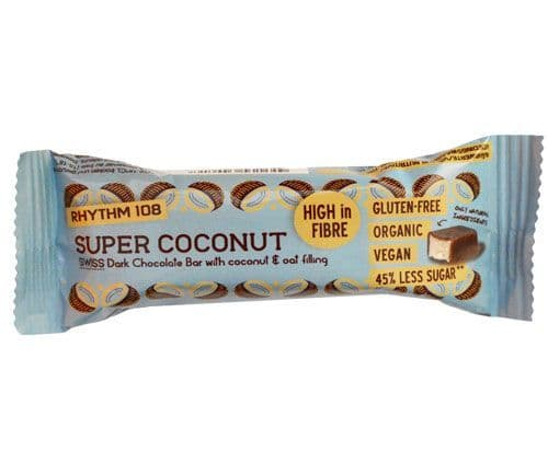 Rhythm 108 Deeelicious Swiss Chocolate Bar - Super Coconut 33g