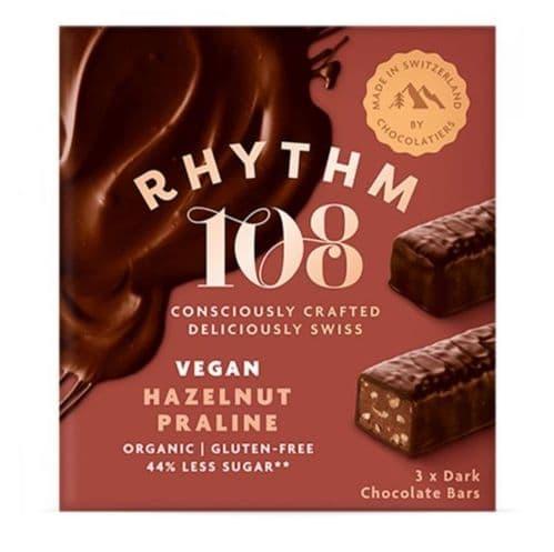 Rhythm 108 Hazelnut Praline 3x33g